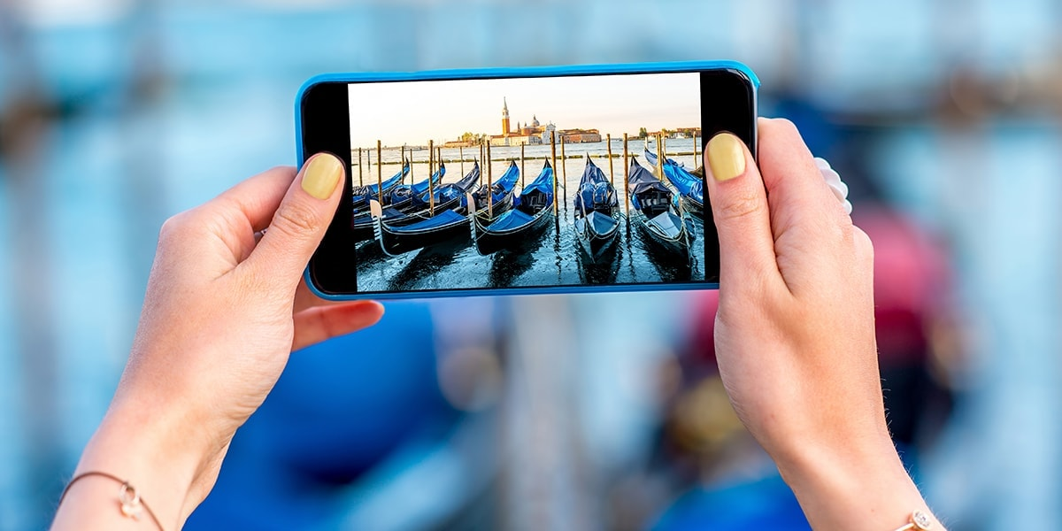 Iemand maakt de mooiste foto's met zijn smartphone