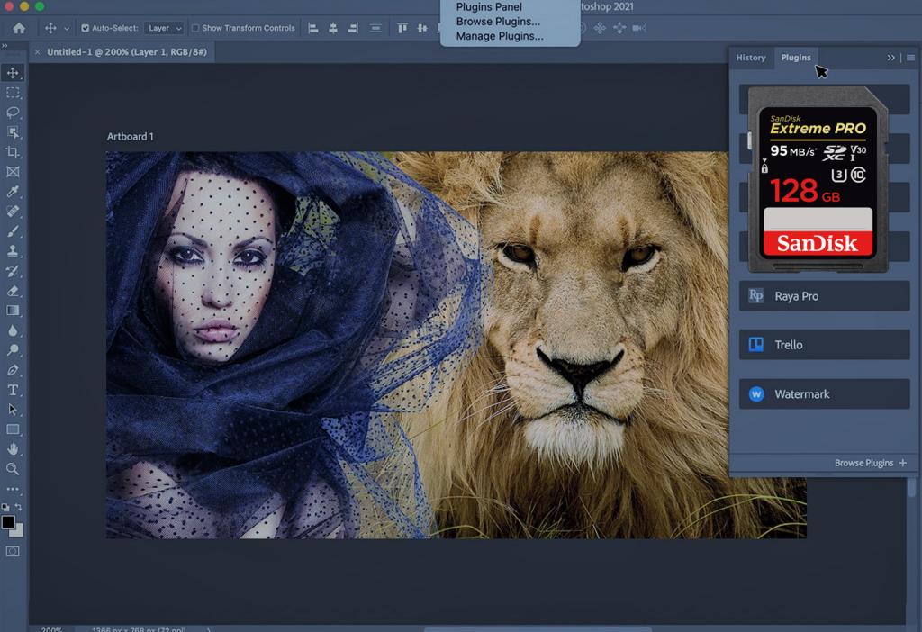 Photoshoppen is moeilijk, maar niet onmogelijk. Begin met het opslaan van foto's op uw SD kaart.